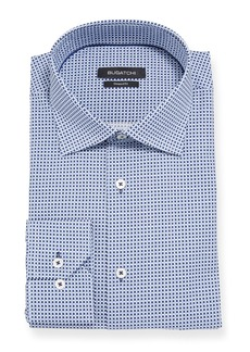 Bugatchi Men's Modern-Fit Grid Dress Shirt