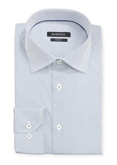 Bugatchi Men's Modern-Fit Printed Dress Shirt