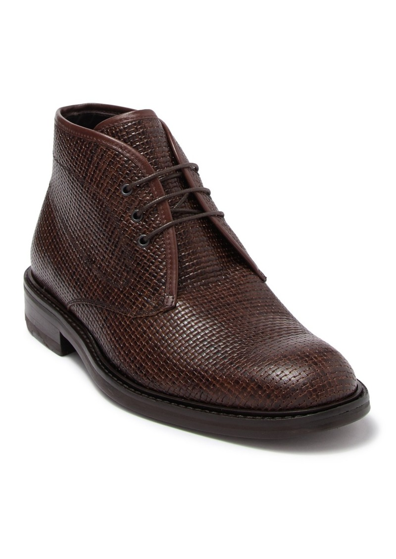 Bugatchi Milano Printed Leather Chukka Boot