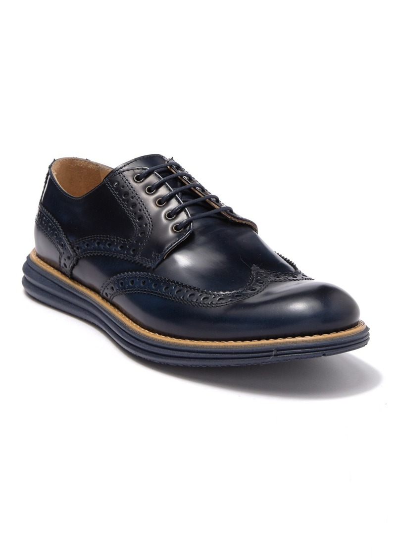 Bugatchi Novara Wingtip Leather Derby