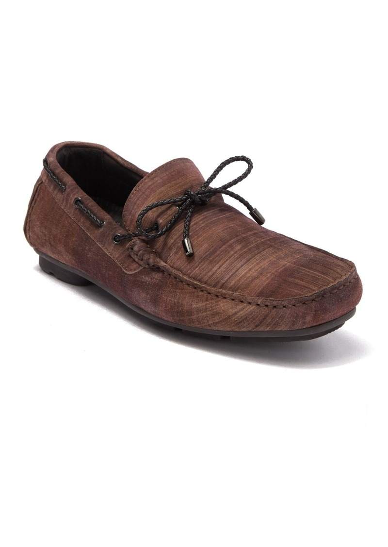 Bugatchi Pompeii Leather Moccasin Loafer