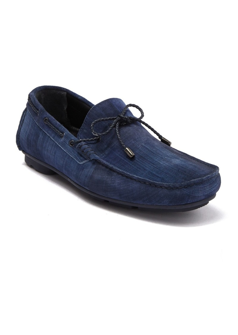 Bugatchi Pompeii Leather Moccasin Loafer