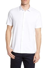 Bugatchi Regular Fit Pima Cotton Shirt