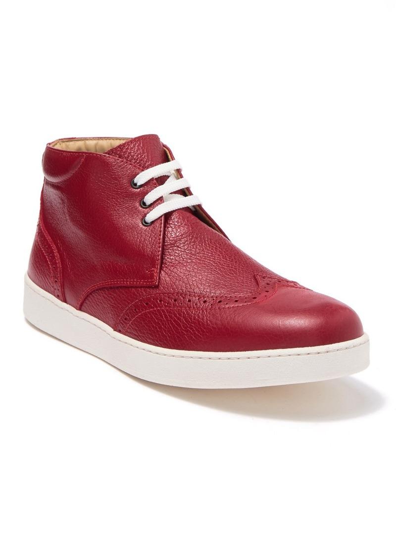 Bugatchi Wingtip Leather Sneaker