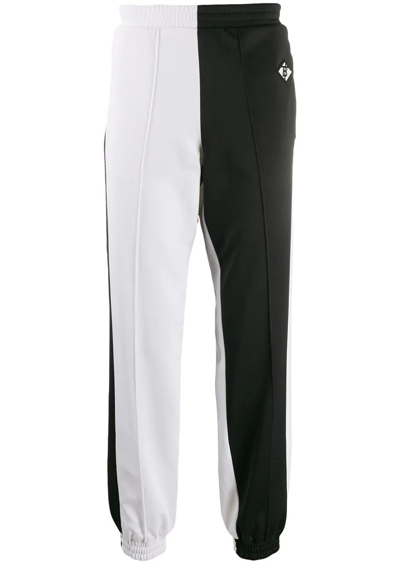 Burberry monochrome track pants