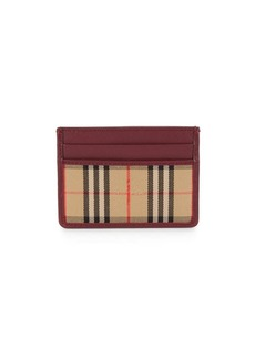 Burberry 1983 Check Card Case