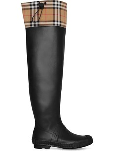 Burberry 20mm Freddy Rubber & Check Boots