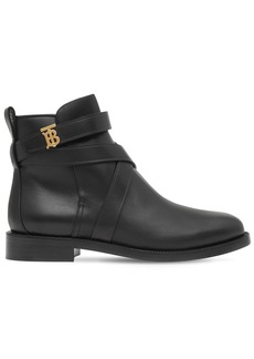 Burberry 20mm Pryle Leather Ankle Boots