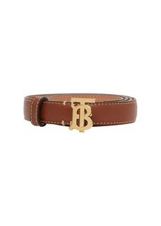 Burberry 2cm Tb Leather Belt