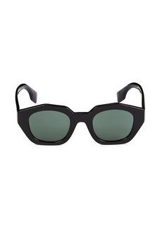 Burberry 46MM Hexagonal Sunglasses