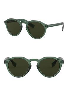 Burberry 48mm Round Glasses