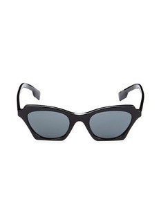 Burberry 49MM Cat Eye Sunglasses