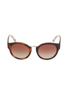 Burberry 50MM Oval Sunglasses