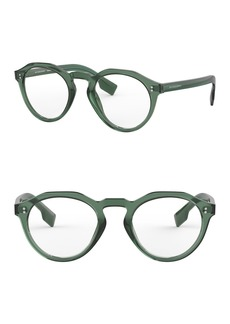 Burberry 50mm Round Glasses