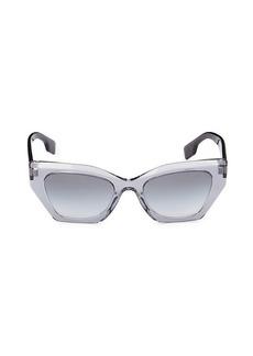Burberry 52MM Square Sunglasses