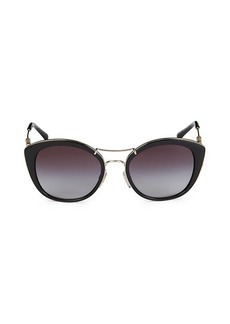 Burberry 53MM Cat Eye Sunglasses