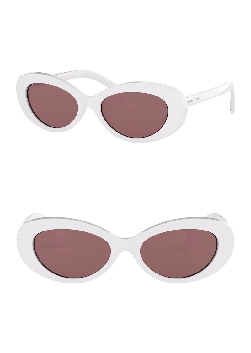Burberry 54mm Oval Sunglasses
