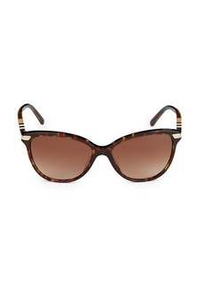 Burberry 57MM Cat Eye Sunglasses