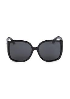 Burberry 61MM Square Sunglasses