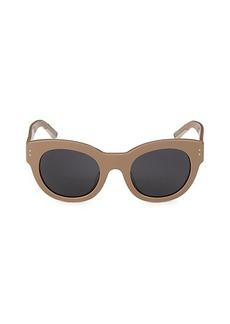 Burberry 63MM Round Sunglasses
