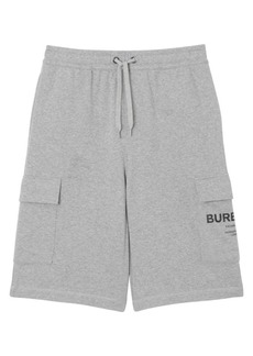 Burberry Ailford Logo Track Shorts