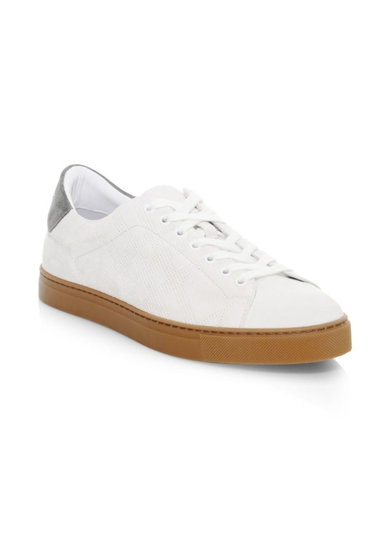 Albert Perforated Leather Sneakers - 40