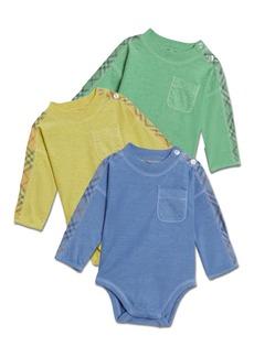 Burberry Alby Bodysuit 3-Piece Layette Set