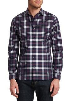 Burberry Alexander Check Button-Down Shirt