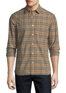 Burberry Alexander Check Sport Shirt