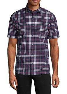 Burberry Alexander Short-Sleeve Button-Down Shirt