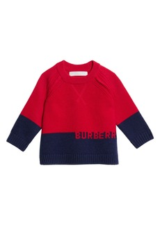 Burberry Alister Colorblock Cashmere Sweater