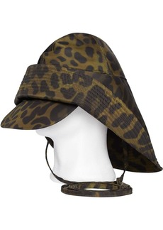 Burberry Animal Print Rain Hat