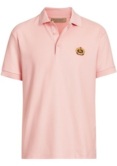 Burberry Archive Logo Cotton Piqué Polo Shirt