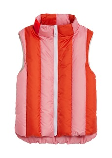 Burberry Ardelle Striped Quilted Vest