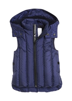 Burberry Armala Quilted Puffer Vest w/ Removable Hood