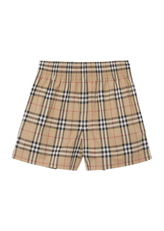 Burberry Audrey Check Shorts