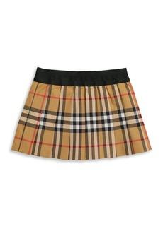 Burberry Baby Girl's & Little Girl's Pansie Plaid Skirt