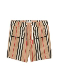 Burberry Baby's & Little Boy's Conroy Icon Pajama Shorts