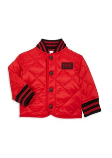 Burberry Baby's & Little Boy's Mini Delaney Quilted Jacket
