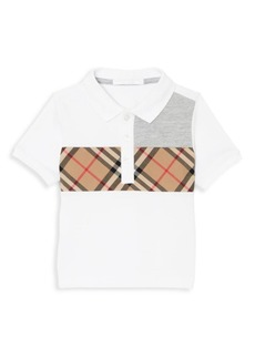 Burberry Baby's & Little Boy's Mini Jeff Patch Polo Shirt
