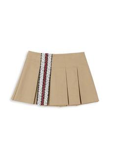 Burberry Baby's & Little Girl's Georgia Pleated Skirt