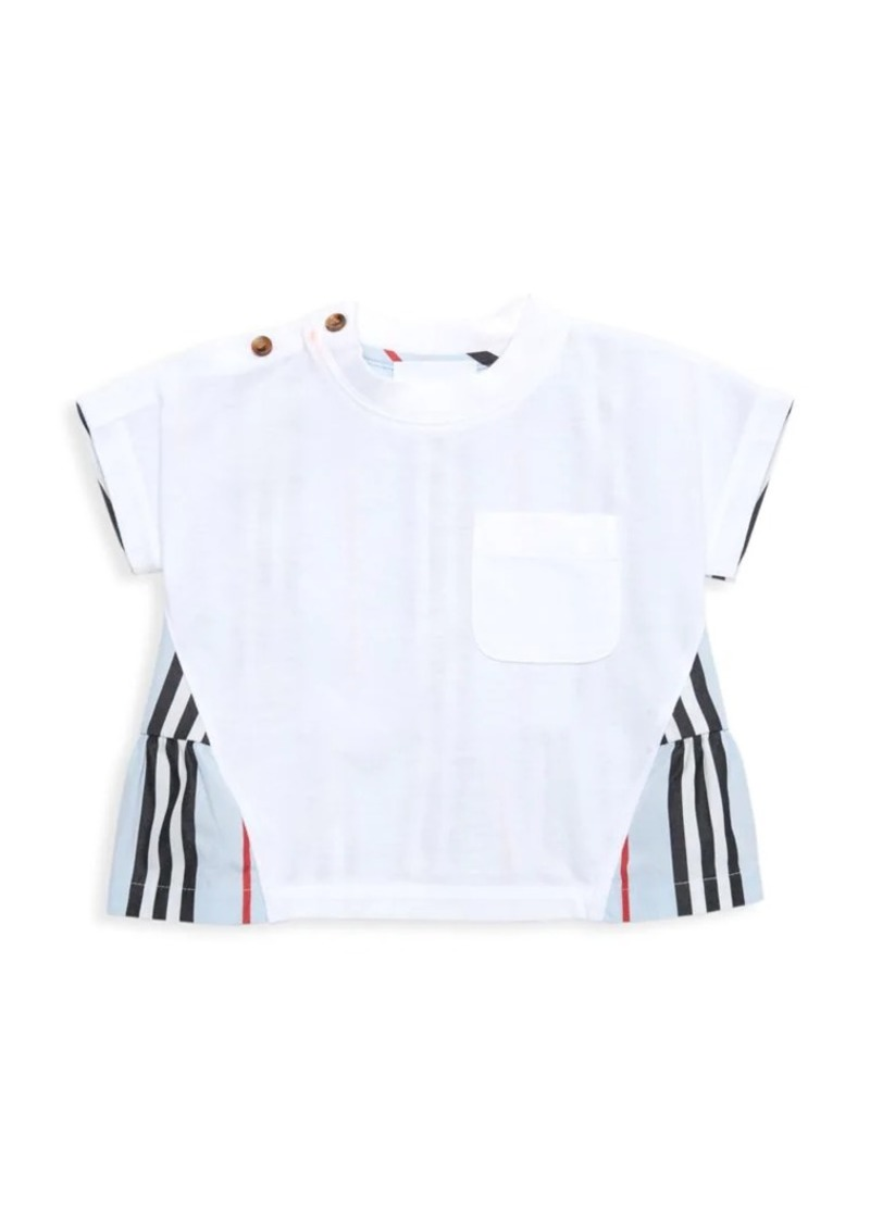 Burberry Baby's & Little Girl's Iconic Peplum Shirt