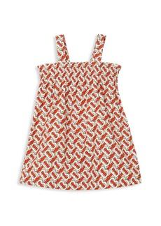 Burberry Baby's & Little Girl's IG2 Junia TB Monogram Shift Dress