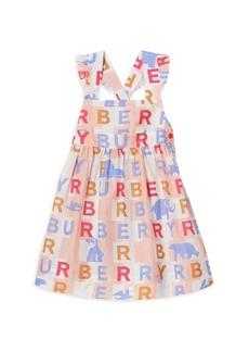 Burberry Baby's & Little Girl's Livia Logo Pinafore Dress