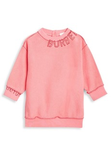 Burberry Baby Girl's & Little Girl's Logo Sweatshirt Dress
