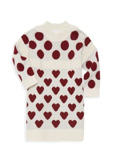 Burberry Baby Girl's & Little Girl's Mini Heart Dot Sweater Dress