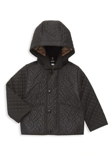 Burberry Baby's & Little Kid's Giaden Quilted Monogram Jacket