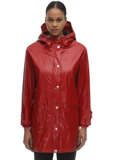 Burberry Back Logo Rain Coat