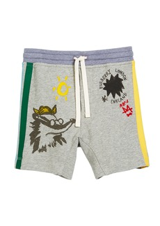 Burberry Badger Drawings Jersey Shorts