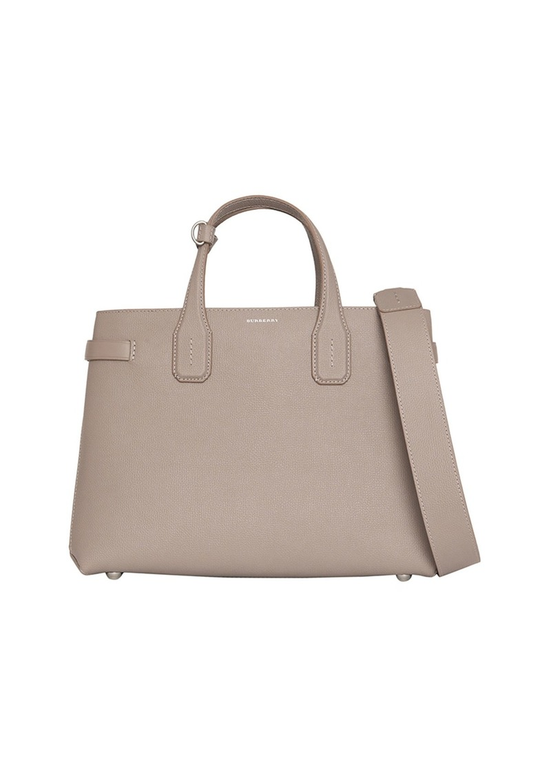 c7bb728e972b Burberry Banner Medium Derby Leather Tote Bag